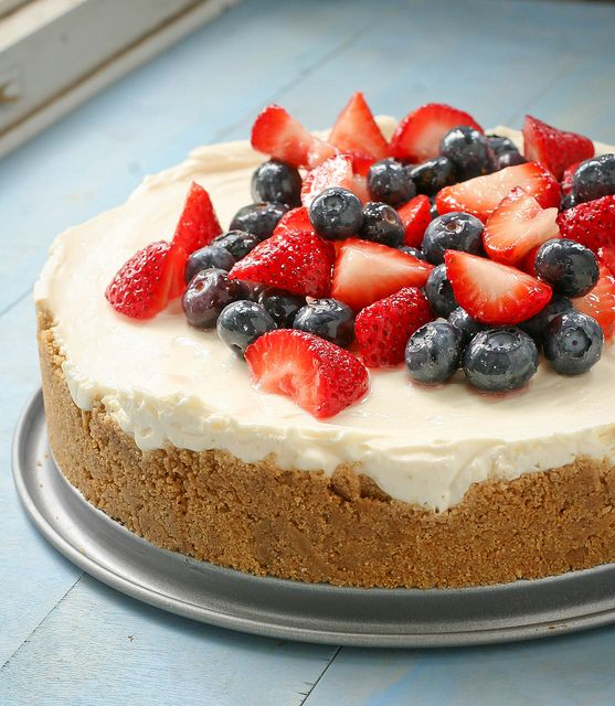 No Cook Cheesecake by daintychef, via Flickr