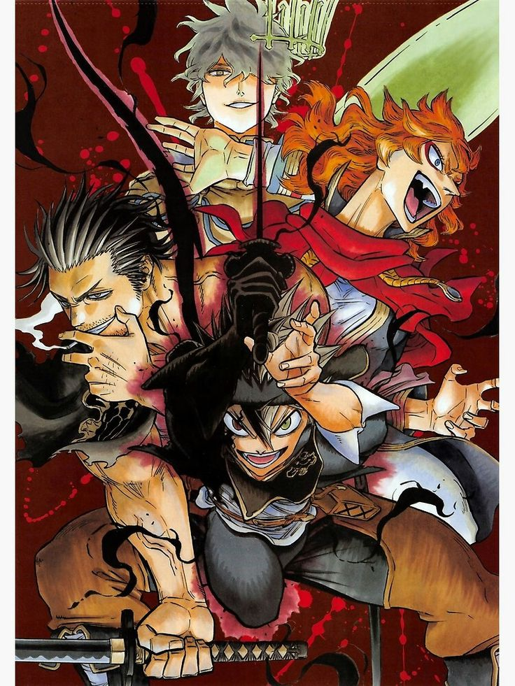Pin by hiime melle on Black Clover (Posters e Outros