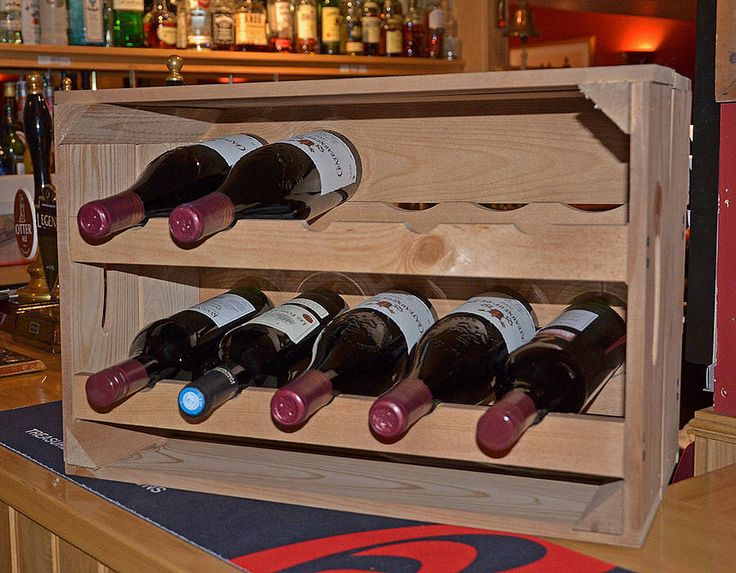 7 Best Wine Crate Ideas Images On Pinterest Home Ideas