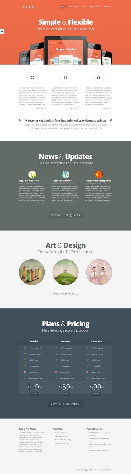 Nimble WordPress Theme http://www.elegantthemes.com/affiliates/idevaffiliate.php?id=20259=http://www.elegantthemes.com/gallery/nimble/ #wordpress #blog #theme