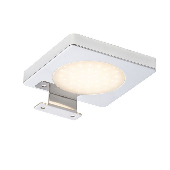 YOLO   rendl light studio   LED bathroom light that can be mounted on a cabinet or mirror. #lighting #design #bathroom #LED