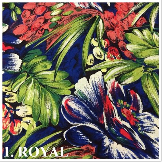 USA Made Premium Quality Floral Rayon Challis Fabric (Wholesale Price Available…