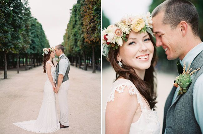 Rustic Parisian Anniversary Session