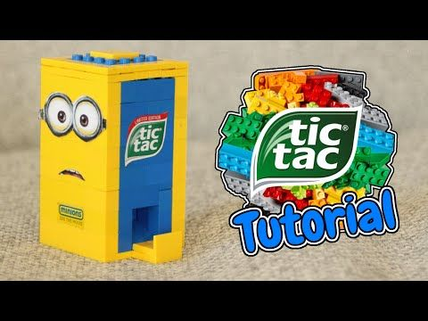 How to Build a LEGO Minion Tic Tac Candy Machine! - YouTube