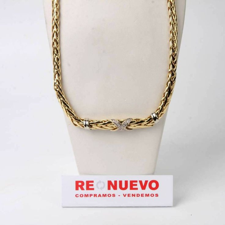 Collar de oro#collar# de segunda mano#oro