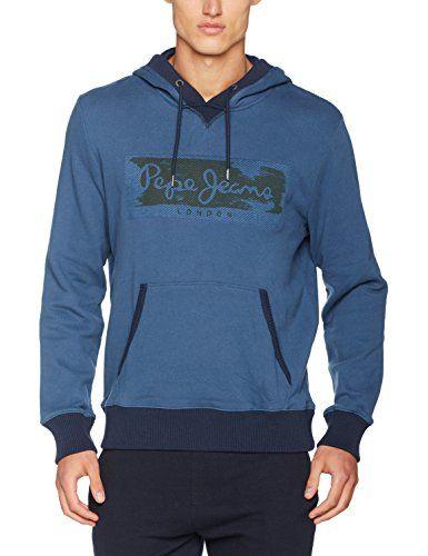 Pepe Jeans Men's Woodward Hooded Sweatshirt, Blue (Jarman... https://www.amazon.co.uk/dp/B06XTNHTR4/ref=cm_sw_r_pi_dp_U_x_19VlAbCZ07KM6