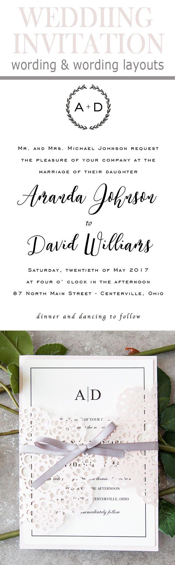 wedding invitations wording quotes%0A popular wedding invitation wording template ideas
