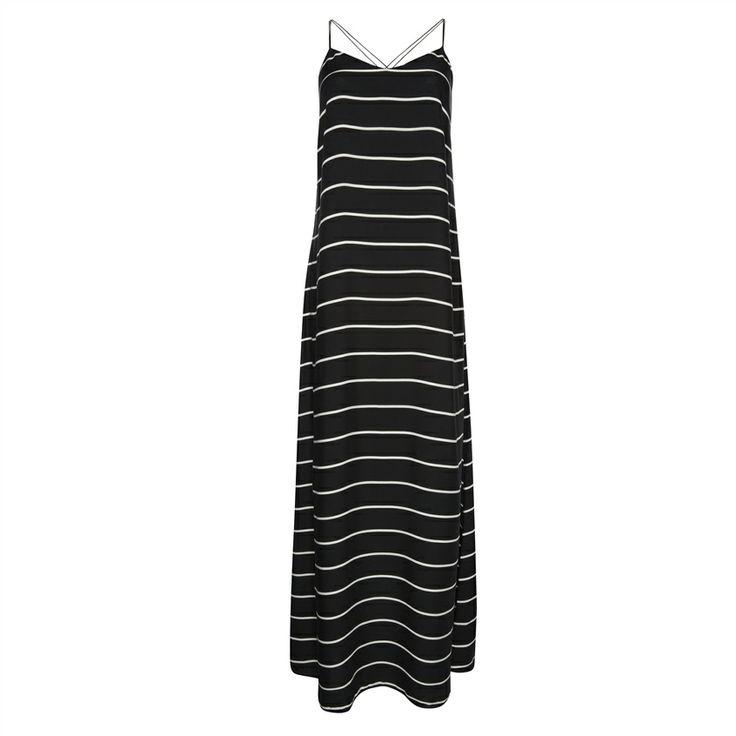 Primark - Stripe trapeze maxi dress