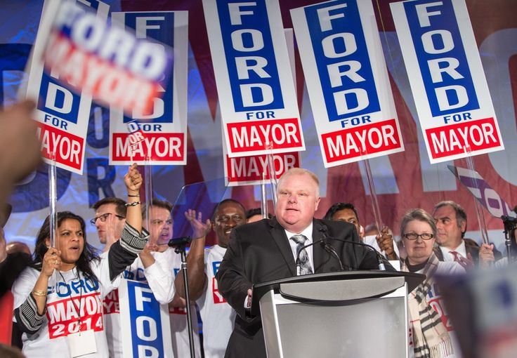 Toronto Mayor Rob Ford dies at age 46.