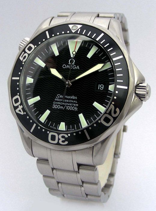 Omega Seamaster... Every guy should have this watch...