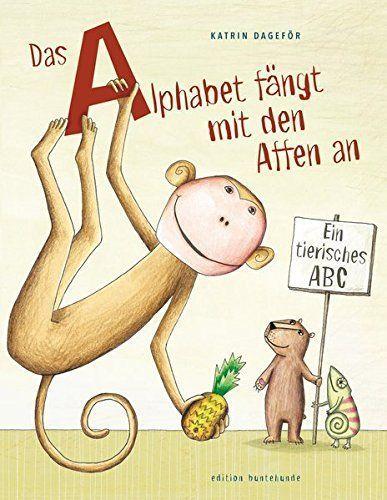 Das Alphabet fängt mit den Affen an - ab 3 Jahren - Kinderbuch-Rezension