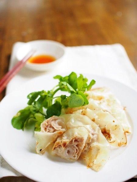 薄切り肉と玉ねぎを包むだけの簡単餃子 by ゆーりん | レシピサイト ...