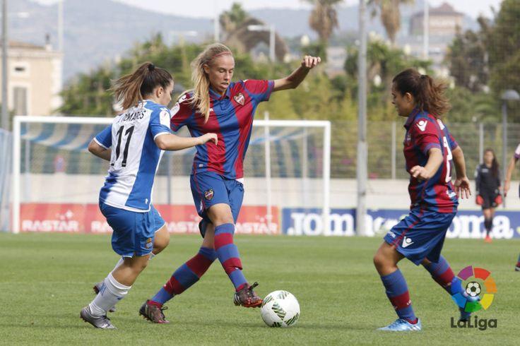 RCD Espanyol De Barcelona - Levante #Football #Femme #Joma #9ine @Espanyol