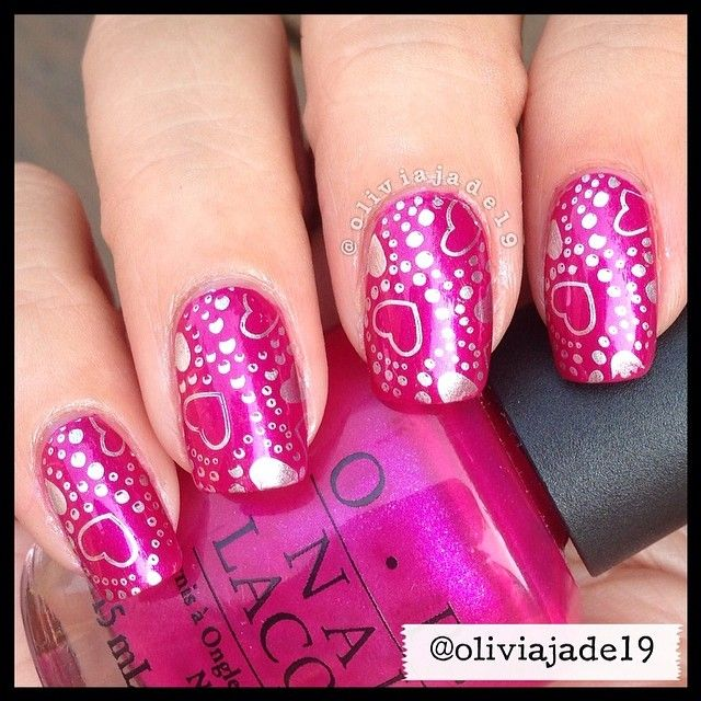 471 best Valentine\'s Day Nails images on Pinterest | Nail design ...