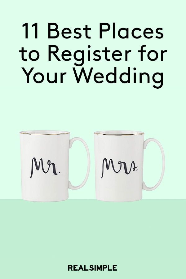 11 Best Places To Register For Your Wedding Wedding Ideas