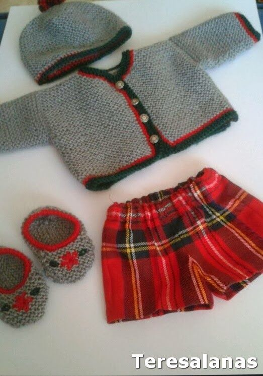 Doll Clothes.  No pattern - just idea.