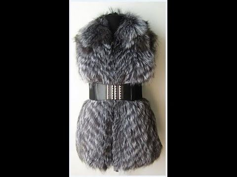 Мастер класс: Шьем жилетку из чернобурки/DIY How to sew a jacket made of natural fur?... — Яндекс.Видео