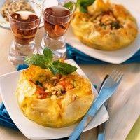 Croustillant de courgettes et crevettes : Toutes les recettes et conseils de cuisine