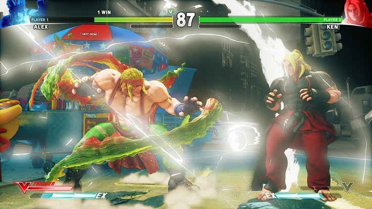 Comme annoncé il y a une semaine, Street Fighter V a non seulement eu le droit à sa mise à jour avec le mode challenge ou encore ses améliorations et corrections de bugs en tous genres mais depuis hier soir 19h, vous avez aussi la possibilité de télécharger gratuitement un nouveau personnage en la personne d'Alex ainsi que le scénario qui va avec. Plus de renseignements dans la suite.