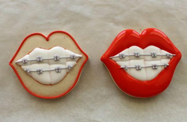 sweet sugarbelle: Silly Orthodontist Cookies