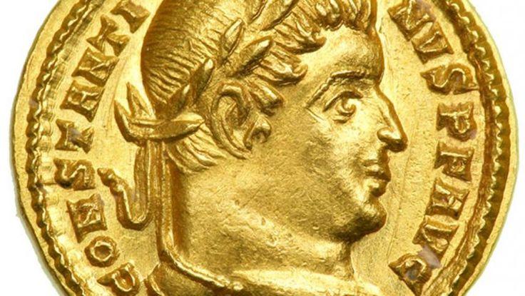 """Din secolul al III-lea, Imperiul Roman traversa o gravă criză economică în contextul marilor migraţii. Fiscalitatea era tot mai împovărătoare, pământurile erau părăsite şi războaie civile izbucneau pentru tron. Instituţiile Principatului au fost desfiinţate de împăratul Diocleţian căci imperiul înceta să mai funcţioneze ca o confederaţie de cetăţi, devenind un stat riguros centralizat, populat de """"douloi """"(supuşi) şi condus de un """"despot"""" cu influenţe împrumutate de la mon..."""