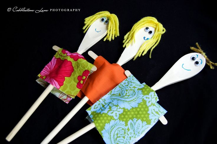The Nature of Grace: Wooden Spoon Puppets (Family Theme)