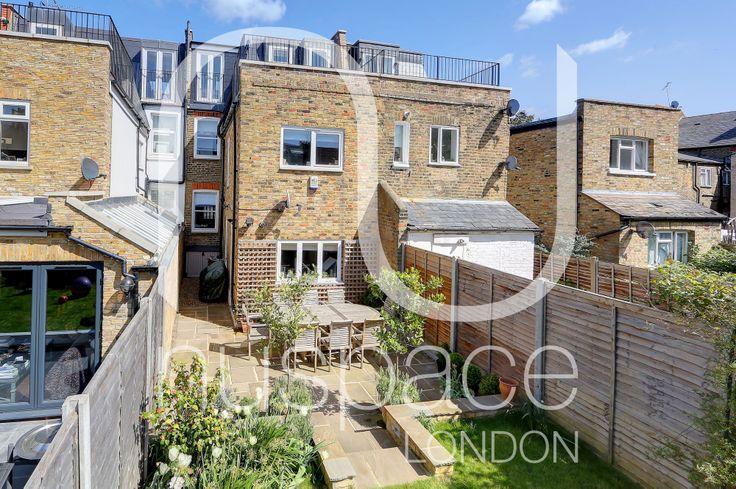 l-shaped dormer loft conversion in Fulham. #nuspacelondon #loftconversion #viewfromoutside