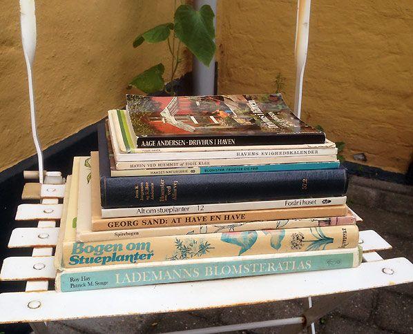 Lille_have_Bøger-loppemarked