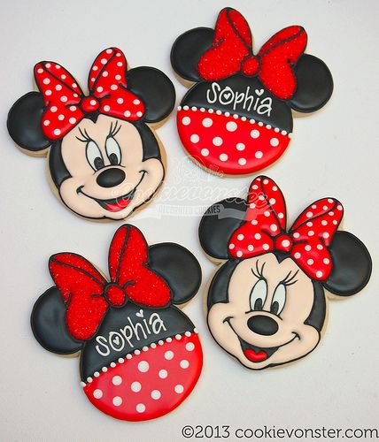 Minnie Mouse in Red - Cookievonster