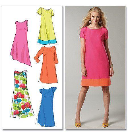 Sewing pattern - McCALLS M6465 Tunic dress