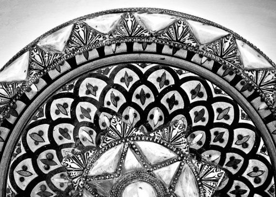 Black & White Monochrome Photography  Moroccan by aroundtheisland, $15.00