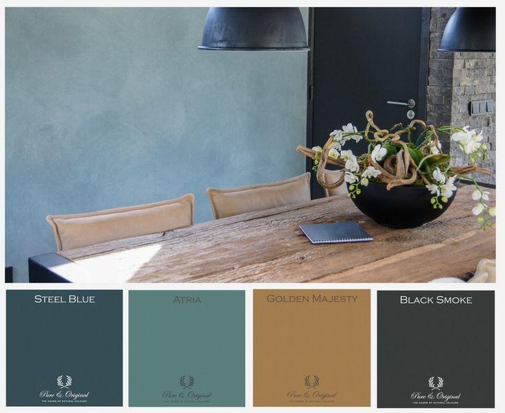 25 beste idee n over interieur kleuren op pinterest for Interieur kleuren