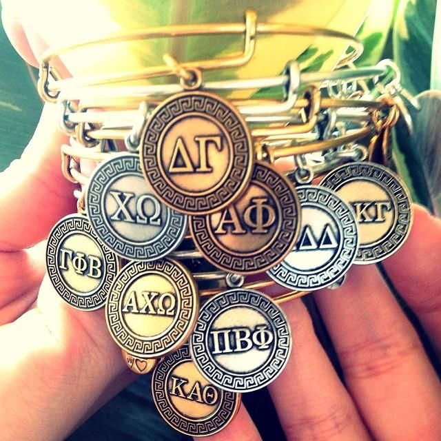 Alex & Ani....Sorority Collection!  Miss all my college girls soooo much!!!