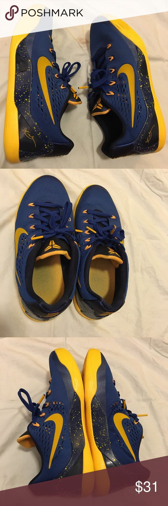 Nike Kobe Bryant IX 9 GS Basketball Shoes Used a few times but still in great condition! Size 6Y. Feel free to negotiate or ask questions in the comments! Nike Shoes Athletic Shoes
