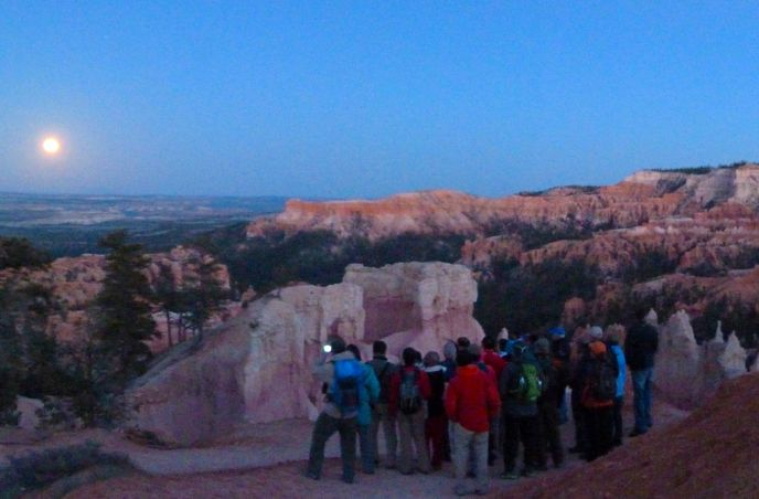 FULL MOON HIKES.  You don't need to be at a Natl Park to enjoy a full moon hike.  Have fun each 29 days going on a full moon hike with your family!