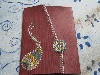 Rakhi cards  -  http://sharmistha-theworld.blogspot.com/2012/07/rakhi-cards.html