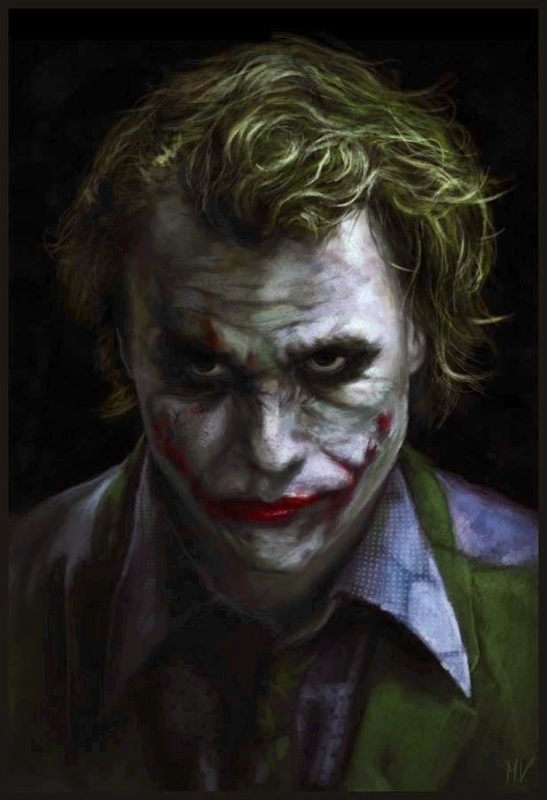 Joker. Heath Ledger ®... #{TRL}
