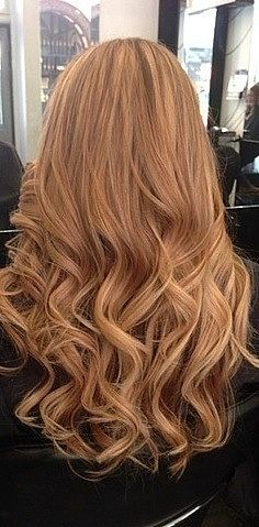 Light brown hair, love this color