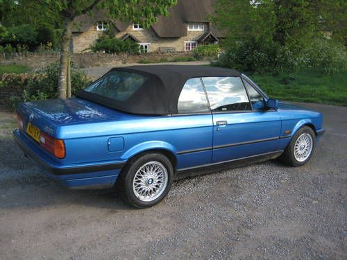 BMW 318I Convertible   BMW 318i Convertible (E30) SOLD (1992) on Car And Classic UK [C90073]
