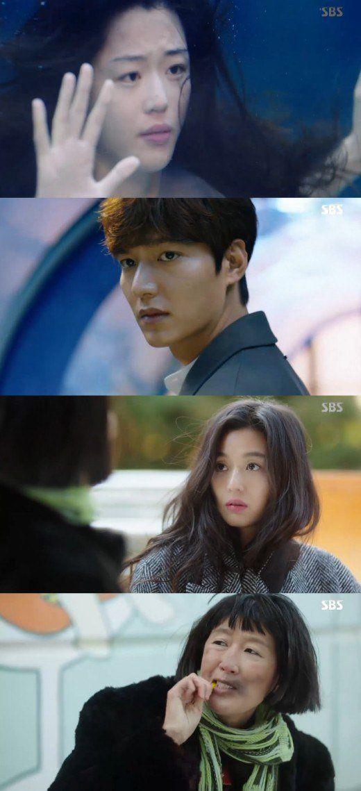 "[Spoiler] ""The Legend of the Blue Sea"" Jeon Ji-hyeon and Lee Min-ho reunite in Seoul"