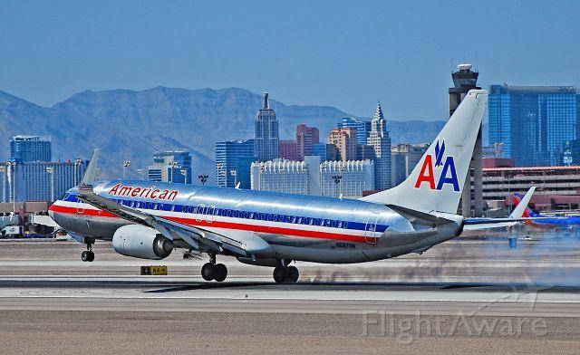 N882NN American Airlines 2011 Boeing 737-823 - cn 33221 / ln 3880 - Las Vegas - McCarran International Airport (LAS / KLAS)<br />USA - Nevada August 28, 2014<br />Photo: Tomás Del Coro