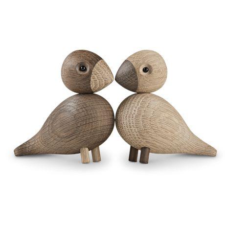 Lovebirds from Kay Bojesen Denmark, designed by Kay Bojesen.