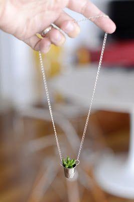 Estéfi Machado: Vaso no dedal * jardim de fadas