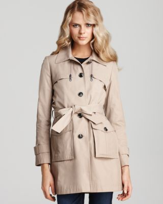 DKNY classic trench
