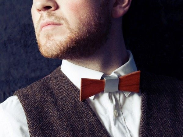 Wooden Bow Tie from Wood Thumb