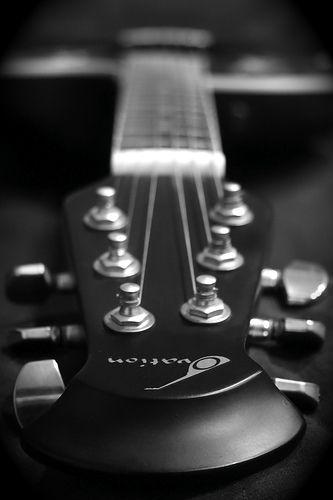 Day 1, Ovation Guitar by SoLostAndFound / Bill Lindsay, via Flickr