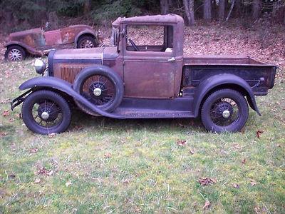 1930 Ford Model A Pickup Truck barn find orginal