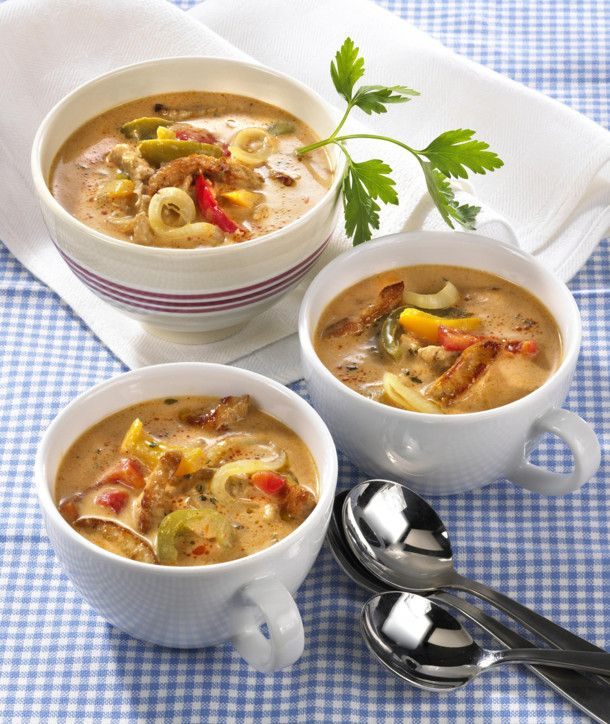 Unser beliebtes Rezept für Pikante Gyros-Suppe und mehr als 55.000 weitere kostenlose Rezepte auf LECKER.de.