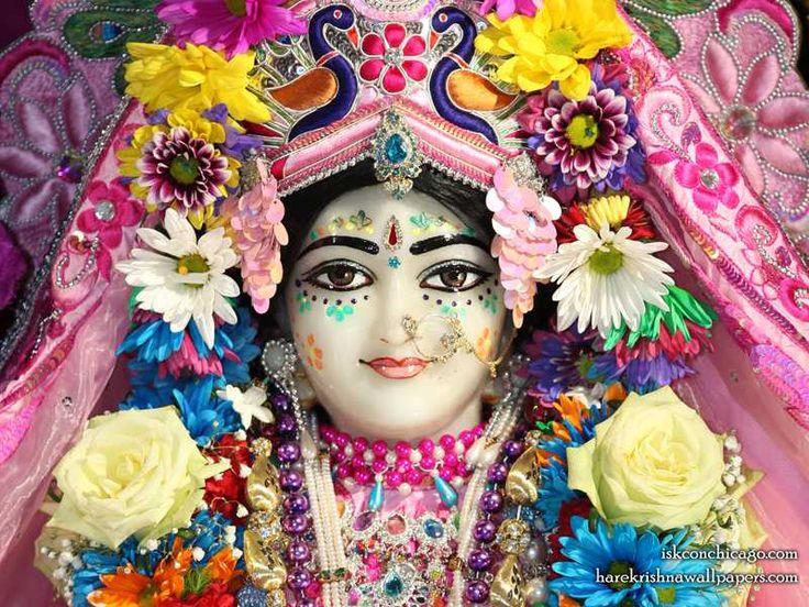 Sri Kishori Close up {ISKCON Chicago}