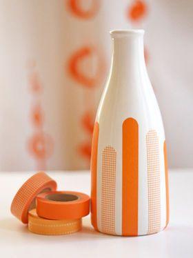 空き瓶をかわいく♡マスキングテープを使ったリメイクアイディア - NAVER まとめ